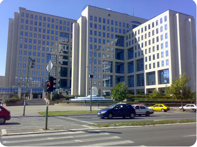 NIS Building in Novi Sad